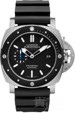 PAM01389 Luminor Submersible 1950 Amagnetic 3 Days Automatic Titanio - 47mm