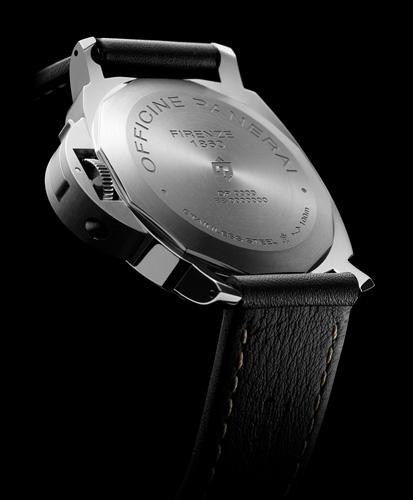 PAM00776 ルミノール マリーナ ロゴ 3デイズ アッチャイオ - 44mm