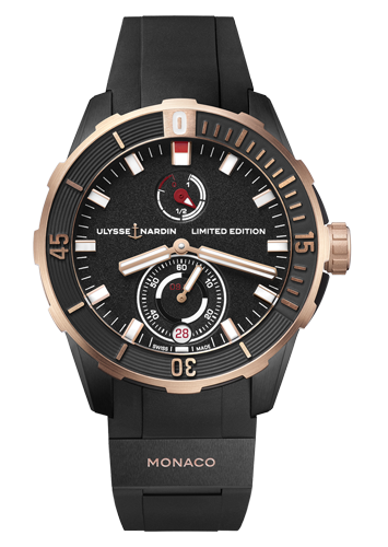 1185-170LE-3/BLACK-MON ダイバー・クロノメーター MONACO LIMITED EDITION  世界限定100本