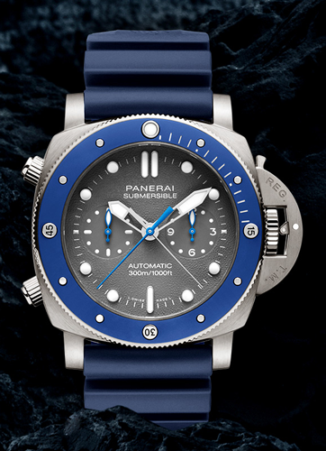 PAM00982 SUBMERSIBLE CHRONO GUILLAUME  NERY EDITION 47mm 世界限定500本