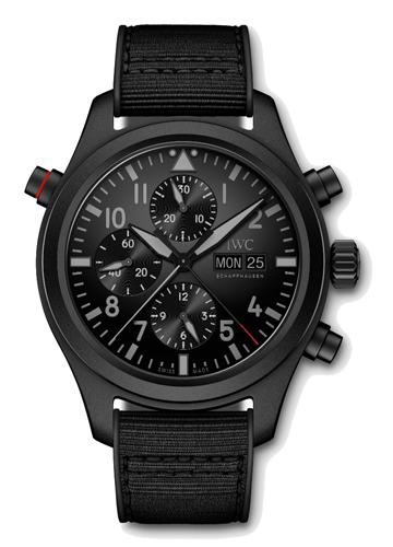 IW371815 PILOT'S WATCH DOUBLE CHRONOGRAPH TOP GUN CERATANIUM(パイロット・ウォッチ・ダブル・クロノグラフ・トップ・ガン・セラタニウム)