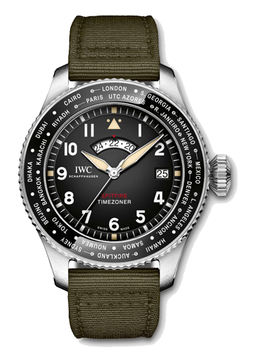 "IW395501 PILOT'S WATCH TIMEZONER SPITFIRE EDITION ""THE LONGEST FLIGHT""(パイロット・ウォッチ・タイムゾナー・スピットファイア ""ロンゲスト・フライト"")250本限定"
