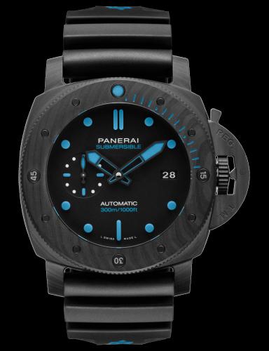 PAM01616 サブマーシブル・カーボテック™ 47MM