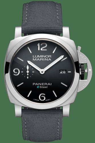 PAM01358 ルミノール・マリーナ ESteel™・Grigio Roccia 44MM