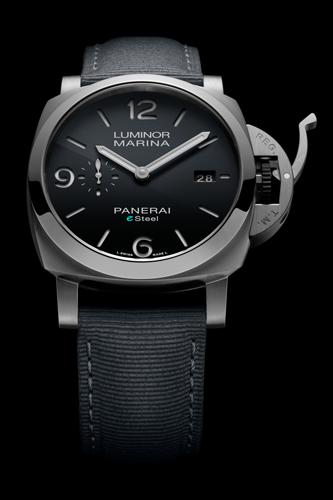 PAM01358 ルミノールマリーナ ESteel™グリジオロッチャ - 44MM